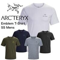 ARC'TERYX アークテリクス Emblem T-Shirt SS Mens エンブレム Tシャツ 夏 半袖 メンズ 黒 グレー 紺 白 送料無料