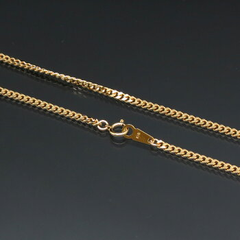 2面喜平ネックレス(二面キヘイ)K18ゴールド10g-40cm造幣局検定刻印入KN0KK2078400