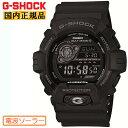 カシオ G-SHOCK ブラック 電波 ソーラー GW-8900A-1JF CASIO Gショック タフソーラー 電波時計 反転液晶 黒 メンズ 腕時計 【あす楽】【在庫あり】