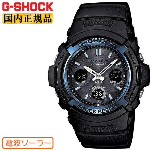 G-SHOCK 電波 ソーラー カシオ Gショック 電波時計 AWG-M100A-1AJF CASIO デジタル×アナログ ウレ...