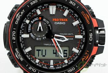 PROTREKプロトレックカシオCASIOPRW-6000Y-1JFソーラー電波時計方位、高度・気圧、温度を計測可能なトリプルセンサーデジタル×アナログメンズ腕時計【正規品】【02P11Jan14】【RCP】【_腕時計】【レビューで3年保証】