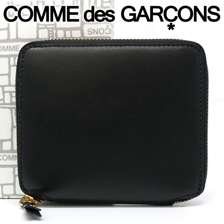 財布・ケース, メンズ財布  COMME des GARCONS SA2100 ARECALF BLACK 500