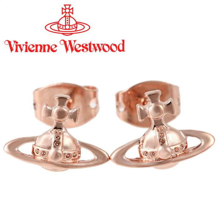 ヴィヴィアンウエストウッド ピアス Vivienne Westwood ヴィヴィアン ローレライスタッドピアス ピンクゴールド 62010014-G002(BE1177/3) 【あす楽】【送料無料】