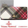 ヴィヴィアンウエストウッド 財布 ヴィヴィアン Vivienne Westwood 長財布 レディース メンズ チェック 2800V EXHIBITION 【あす楽】【送料無料】
