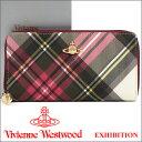 ヴィヴィアン 長財布 ヴィヴィアンウエストウッド Vivienne Westwood ラウンドファスナー財布 5140V EXHIBITION 15AW 【02P26Mar16】
