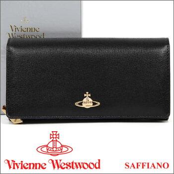 ヴィヴィアンウエストウッドVivienneWestwood長財布ブラック