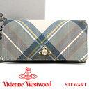 ヴィヴィアンウエストウッド 財布 ヴィヴィアン Vivienne Westwood 長財布 レディース メンズ チェック 51060025 STEWART 18...