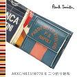 ポールスミス 財布 Paul Smith 二つ折り財布 メンズ ブラック サイクルジャージ ARXC/4833/W778 B 【送料無料】【02P03Dec16】