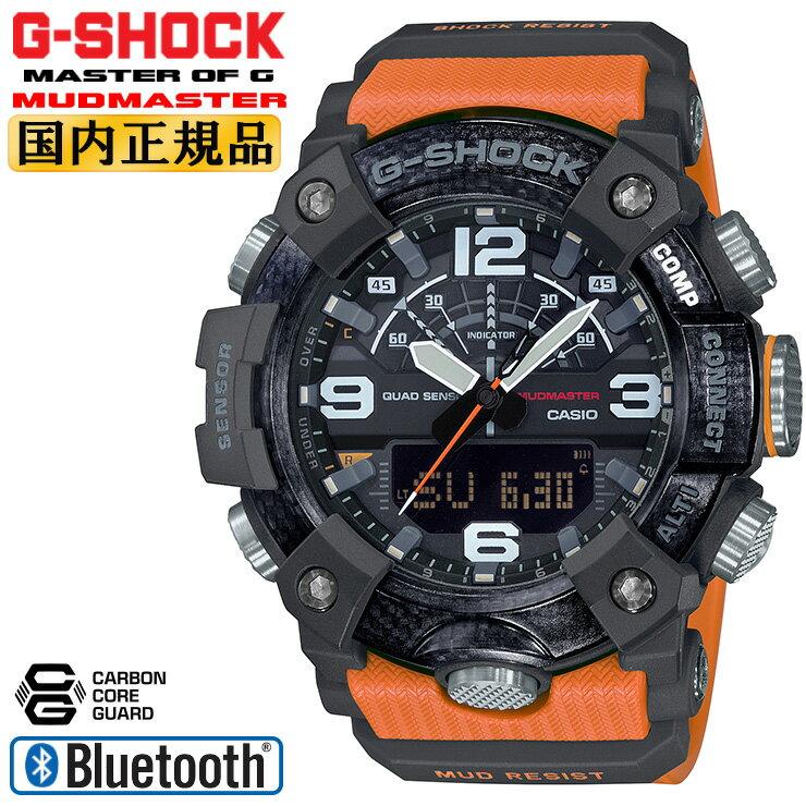 腕時計, メンズ腕時計  G GG-B100-1A9JF CASIO G-SHOCK MUDMASTER Bluetooth GGB1001A9JF