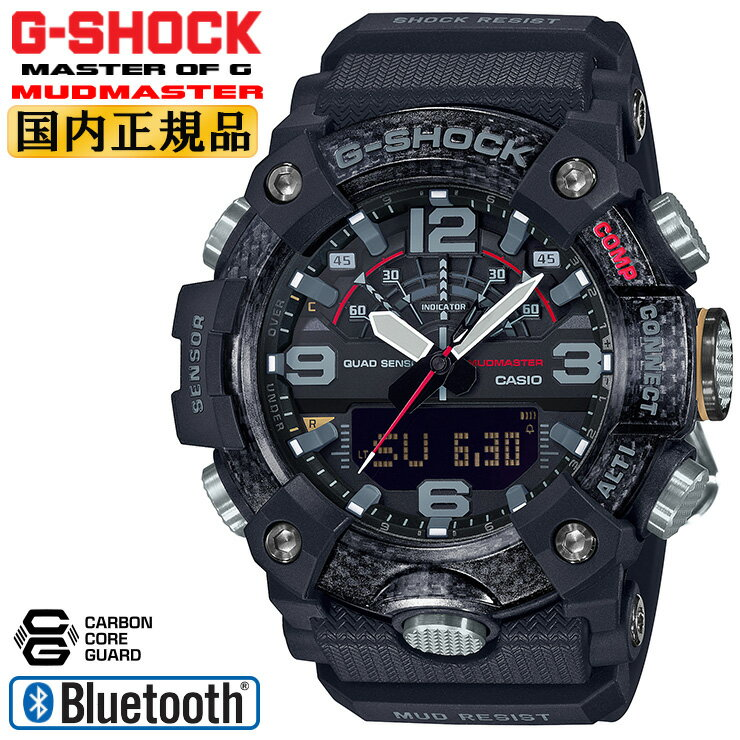 腕時計, メンズ腕時計  G GG-B100-1AJF CASIO G-SHOCK MUDMASTER Bluetooth GGB1001AJF