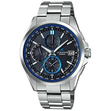 カシオ オシアナス OCEANUS ソーラー 電波時計 OCW-T2600-1AJF CASIO クロノグラフ スマートアクセス クラシックライン ブラックフェイス メンズ 腕時計 【あす楽】