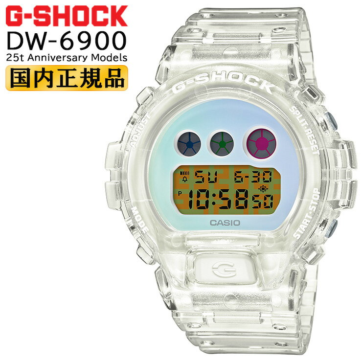 腕時計, メンズ腕時計  G 6900 25 DW-6900SP-7JR CASIO G-SHOCK ORIGIN 25th Anniversary Models