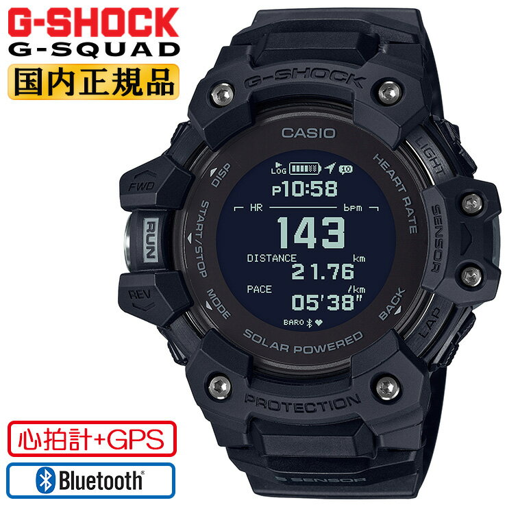 腕時計, メンズ腕時計  G G GPS GBD-H1000-1JR CASIO G-SHOCK G-SQUAD Bluetooth MIP GBDH10001JR
