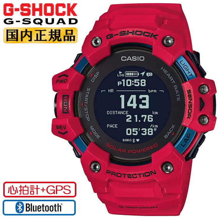 腕時計, メンズ腕時計  G G GPS GBD-H1000-4JR CASIO G-SHOCK G-SQUAD Bluetooth MIP GBDH10004JR