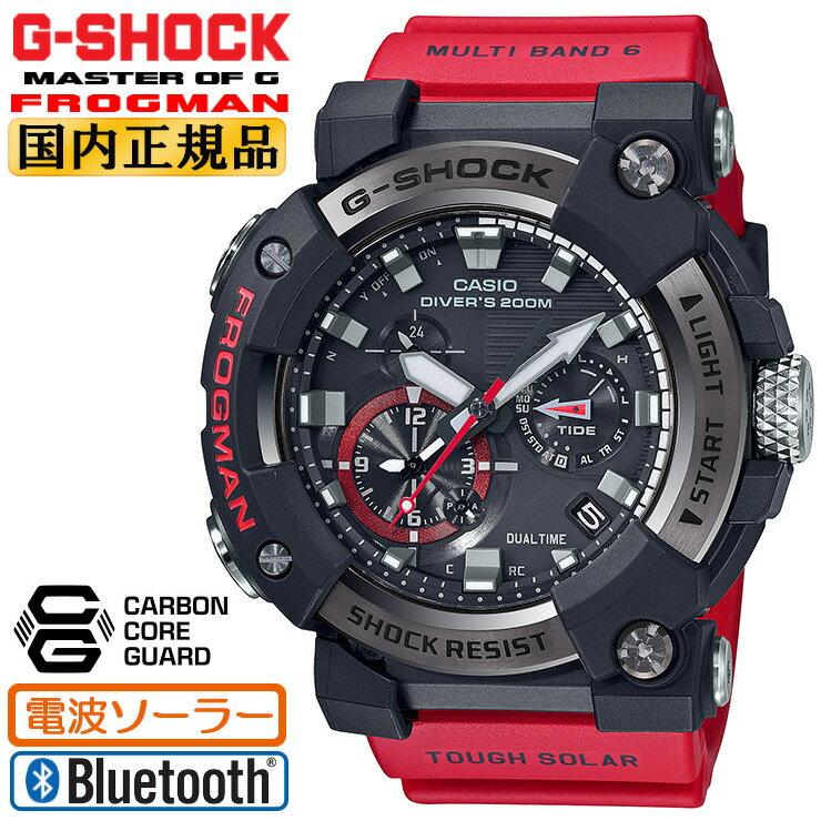 腕時計, メンズ腕時計  G GWF-A1000-1A4JF CASIO G-SHOCK Master of G FROGMAN G ISO200m Bluetooth GWFA10001A4JF