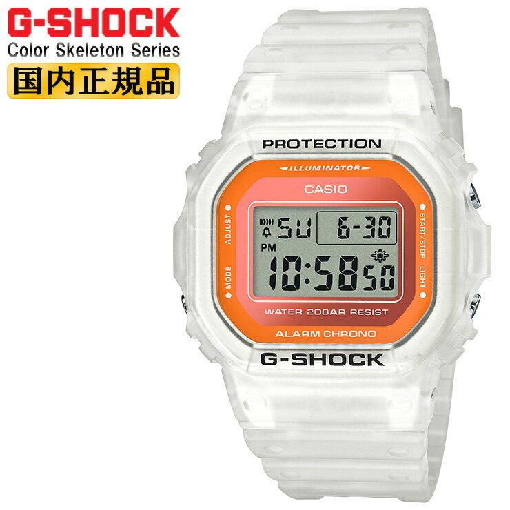 腕時計, メンズ腕時計  G 5600 DW-5600LS-7JF CASIO ORIGIN G-SHOCK Color Skeleton Series DW5600LS7JF