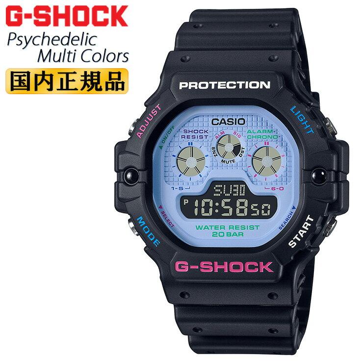 腕時計, メンズ腕時計  G DW-5900DN-1JF CASIO G-SHOCK Psychedelic Multi Colors DW5900DN1JF