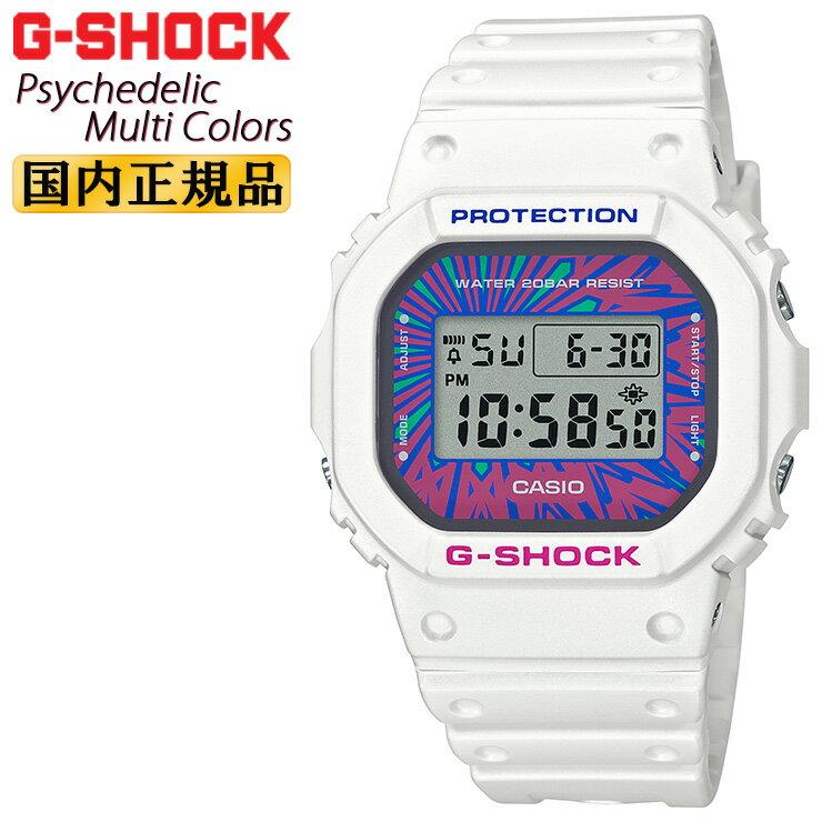 腕時計, メンズ腕時計  G DW-5600DN-7JF CASIO G-SHOCK ORIGIN Psychedelic Multi Colors DW5600DN7JF