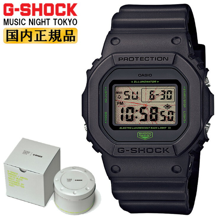 腕時計, メンズ腕時計  G MUSIC NIGHT TOKYO DW-5600MNT-1JR CASIO G-SHOCK ORIGIN YOSHIROTTEN DW5600MNT1JR