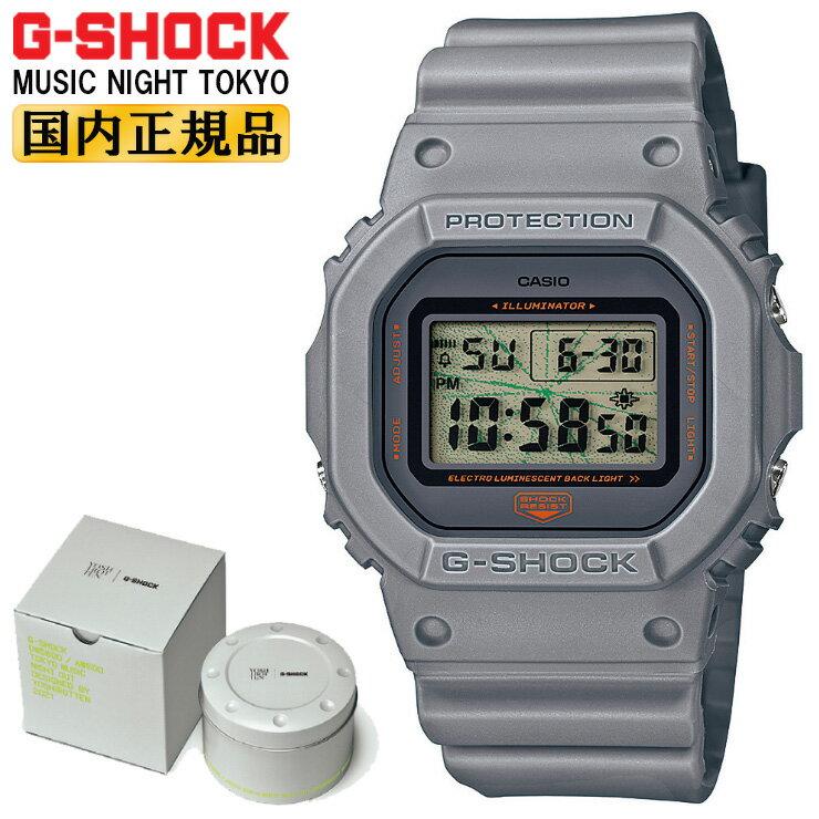 腕時計, メンズ腕時計  G MUSIC NIGHT TOKYO DW-5600MNT-8JR CASIO G-SHOCK ORIGIN YOSHIROTTEN DW5600MNT8JR