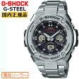 G-SHOCK 電波 ソーラー G-STEEL ミドルサイズ GST-W310D-1AJF CASIO Gショック タフソーラー 電波時計 アナログ&デジタル シルバー 銀 メンズ 腕時計 【あす楽】【在庫あり】