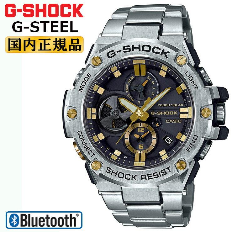 CASIO G-SHOCK gold G-SHOCK G-STEEL GST-B100D-1A9...