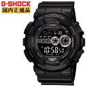 カシオ G-SHOCK Gショック GD-100-1BJF 反転液晶 高輝度LEDバックライト ビッグケース デジタル ブラック 黒 メンズ 腕時計 【正規品】【レビューで3年保証】【あす楽】【在庫あり】
