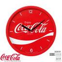 【掛 時計 コカ・コーラ スイープ】 コカ・コーラ Coca-Cola AC601R セイコークロック スイープ 掛 壁掛 時計 クオーツ ライセンス クロック 【お取り寄せ】【02P03Dec16】 【RCP】
