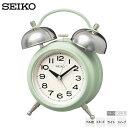 セイコー SEIKO KR508M レトロ ツイン ベル音 アラーム スヌーズ ライト スイープ クオーツ シンプル めざまし 時計 クオーツ 【お取り寄せ】【02P03Dec16】 【RCP】
