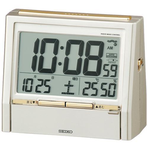 置き時計・掛け時計, 置き時計  DA206G SEIKO 30OFF02P03Dec16 RCP