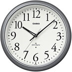 CASIO カシオ 電波 掛時計 IQ-1050NJ-8JF クロック ライト機能付き シルバー 【お取り寄せ】【02P26Mar16】 【RCP】
