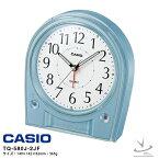 カシオ 電波 めざまし 時計 TQ-580J-2JF CASIO 電子音 アラーム スヌーズ 秒針停止 LEDライト クロック 【お取り寄せ】 【02P26Mar16】 【RCP】