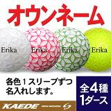 【オウンネーム】KAEDE4種1