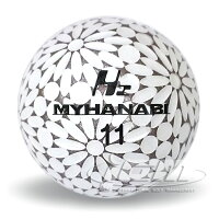 MYHANABIH2マイハナビゴルフボール3スリーブ(9球)+マーカーセットゴルフプレゼントボール飛距離ギフト誕生日景品コンペゴルフ用品父の日送料無料離島沖縄等除く《上司/プレゼント/ゴルフ好き/飛距離アップ》