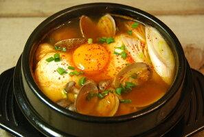 スンドゥブチゲの調理例、スンドゥブ鍋、チゲ鍋、李王家