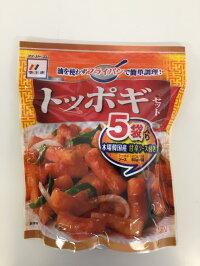 【李王家】COSTCOでも人気!トッポギセット5食入★もちもちのトッポギと特製甘辛ソースのセット。