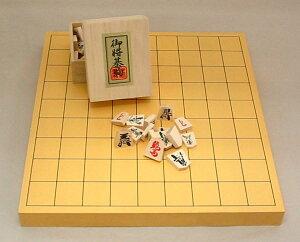 将棋セット ヒバ1寸卓上接合将棋盤セット7