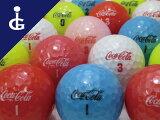 【送料無料】コカ・コーラカラーMIX2ダースセットレディースロストボールゴルフボール【中古】