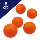 【送料無料】キャスコクリスタルカラー:オレンジトパーズ★★★ランク/2ダースロストボールゴルフボール【中古】