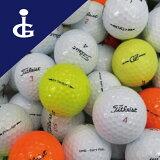 【訳あり】【送料無料】タイトリスト色々Mix50個セットロストボールゴルフボール【中古】