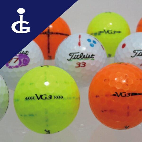 Titleist タイトリスト VG3 マジックボール 30個セット 訳あり ロストボール ゴルフボール【中古】