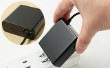 送料無料Type-C AC充電器3.4A 急速充電 ケーブル長 1.5m USB1ポート付 スマホ【ブラック ホワイト】 01U3400TCゆうパケット