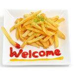 【受注生産】ポテト好きさんのためのフライドポテト食品サンプルウェルカムオブジェ