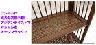 オープンラック木製ディスプレイラック3段,和風飾り棚ラックシェルフアジアン家具収納,アジアンテイスト【完成品】