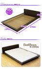 ベッドセミダブルマットレス付きロータイプセミダブルベッドマットレス付きフロアベッド選べる分割ボンネルコイルポケットコイル
