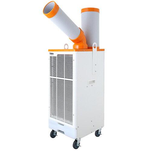 ###スイデン/Suiden【SS-28EJ-1P】スポット冷房 クールスイファン レンタル・リース向け 冷風1口自動首振り装置なし 100V ポッキンプラグ付