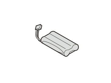 パナソニックドアホン【KX-FAN57】ワイヤレスモニター子機用電池パック