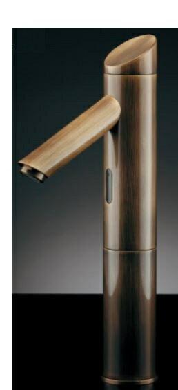 カクダイ【713-334】センサー水栓(トール・オールドブラス):あいあいショップさくら