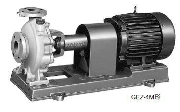 川本 海水用 ナイロンコーティング 50Hz【GEZ1505-4ME30】三相200V GEZ-4M形 カワホープ