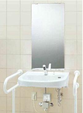 ###INAX 洗面器セット【L-365APR】車椅子対応洗面器 自動水栓 AM-200TCV1 壁給水・壁排水(Pトラップ) 受注生産
